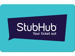 StubHub Gift Card
